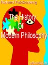 History Of Modern Philosophy (eBook)